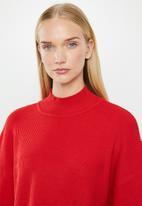 MANGO - Botoni jersey - red
