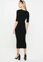 MANGO - Dress elliot - black