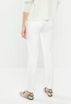 MANGO - Sculpt skinny jeans - white