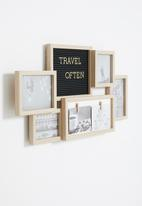 H&S - Picture frame - brown
