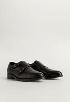 MANGO - Monk strap shoe - black