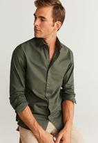 MANGO - Arthur shirts - green
