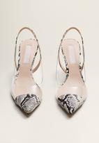 MANGO - Honor1 stiletto heel - grey