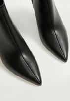 MANGO - Night ankle boot - black