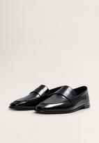 MANGO - Cosmo loafer - black