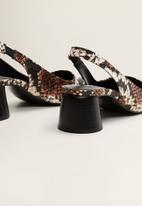 MANGO - Marian1 block heel - multi