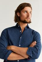 MANGO - Jojobas casual shirt - blue