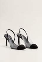 MANGO - Honor stiletto heel - black