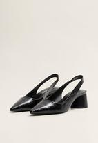 MANGO - Marian block heel - black
