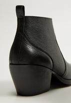 MANGO - Greco ankle boot - black