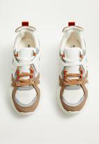 MANGO - Kevin sneaker - white