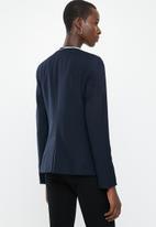 MANGO - Boreal long sleeve blazer - navy