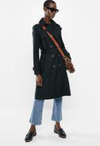 MANGO - Polana trench coat - black
