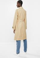 MANGO - Polana trench coat - beige