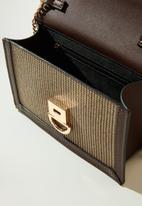 MANGO - Alemania bag - brown