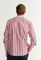 MANGO - Izaro shirts - red & white