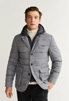 MANGO - Joe jacket - grey