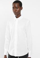 MANGO - Long sleeve shirt - white