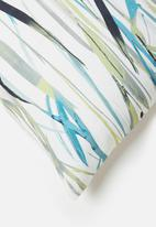 Grey Gardens - Reeds cushion cover - teal