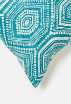 Grey Gardens - Dots cushion cover - aqua
