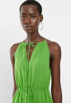 MANGO - Dress malva - green