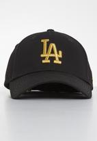 New Era - Los Angeles dodgers - black & gold