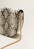 MANGO - Onofre bag - gray