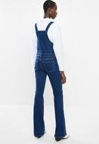 MANGO - Boho dungaree - blue
