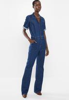 MANGO - Julia jumpsuit - blue