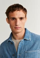 MANGO - John jacket - blue