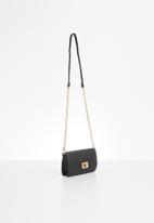 ALDO - Scheule cross body bag - black