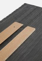 Sixth Floor - Flange trim headboard - natural