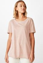 Cotton On - The heritage tee - pink