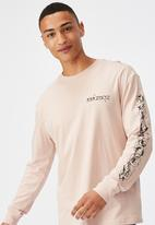 Cotton On - Tbar long sleeve - pink