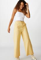 Cotton On - Naomi wide leg - yellow