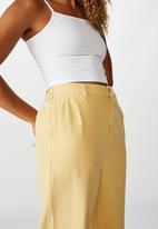 Cotton On - Naomi wide leg - yellow