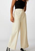 Cotton On - Naomi wide leg - neutral