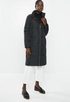 Jacqueline de Yong - Erica x-long padded jacket - black
