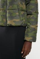 Jacqueline de Yong - Eria short padded jacket - multi