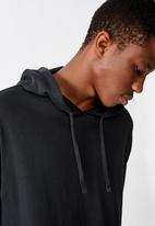 Cotton On - Pigment dyed oversized pullover - charcoal