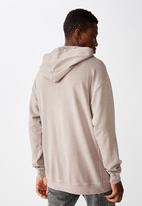 Cotton On - Pigment dyed oversized pullover - musk