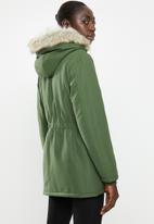 Jacqueline de Yong - Star kia parka - green