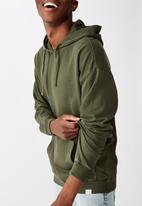 Cotton On - Pigment dyed oversized pullover - khaki