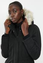 Jacqueline de Yong - Star kia parka - black