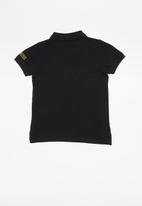GUESS - Short sleeve Guess core polo - black