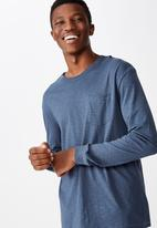 Cotton On - Otis long sleeve - navy