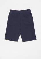 GUESS - Guess teens fashion active shorts  - navy & yellow