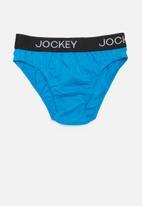 Jockey - 3 pack plain boys jockey briefs - multi