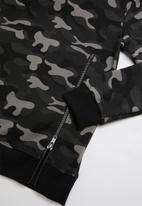 MINOTI - Teens hoodie - black & grey