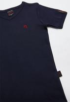 SOVIET - Bolt evo short sleeve muscle tee - navy